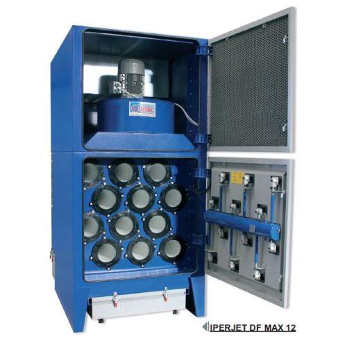 IPERJET DF MAX-12-C1200 18,5 kW antisztatikus porleválasztó szűrőtorony