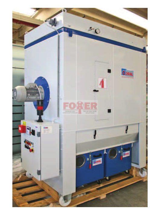 EUROFILTER-M300-P/Z/AX/ 7,5kW  vezérlő nélkül
