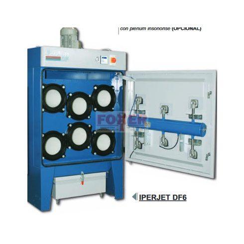 IPERJET DF-6 / 4KW / USGC / 4000m3/h  / 72m2 szürö porleválasztó szűrőtorony
